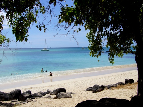 La cuvette mauritius beach