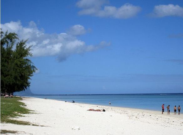 Flic en flac Mauritius beaches