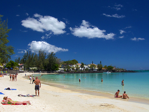 Beaches in Mauritius pereybere Grand Bay