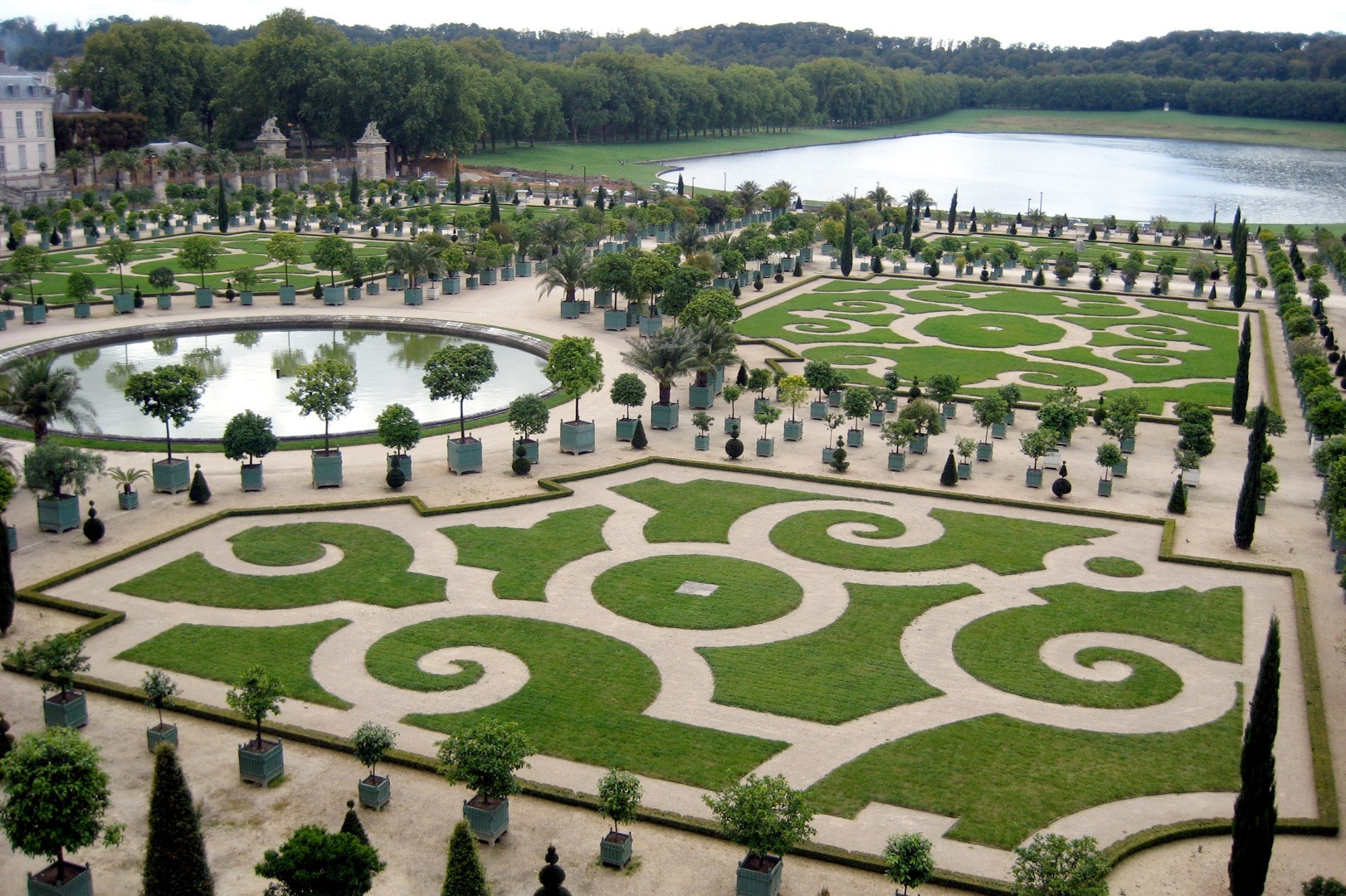March 2013 travel the world - Le jardin du chateau de versailles ...
