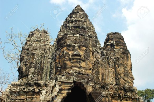 9802990-Landscape-of-Angkor-ruins-at-Siem-Reap-Cambodia-Stock-Photo-angkor-wat-temple